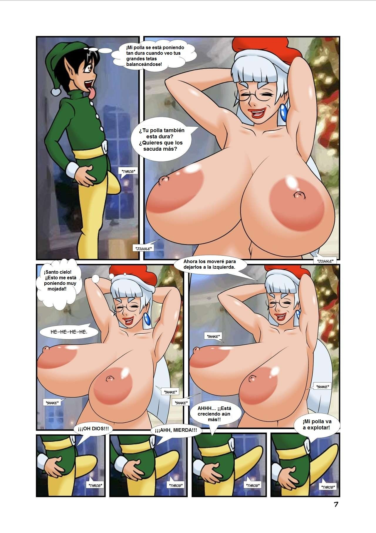 Xmas Pay Rise Mrs Claus 07