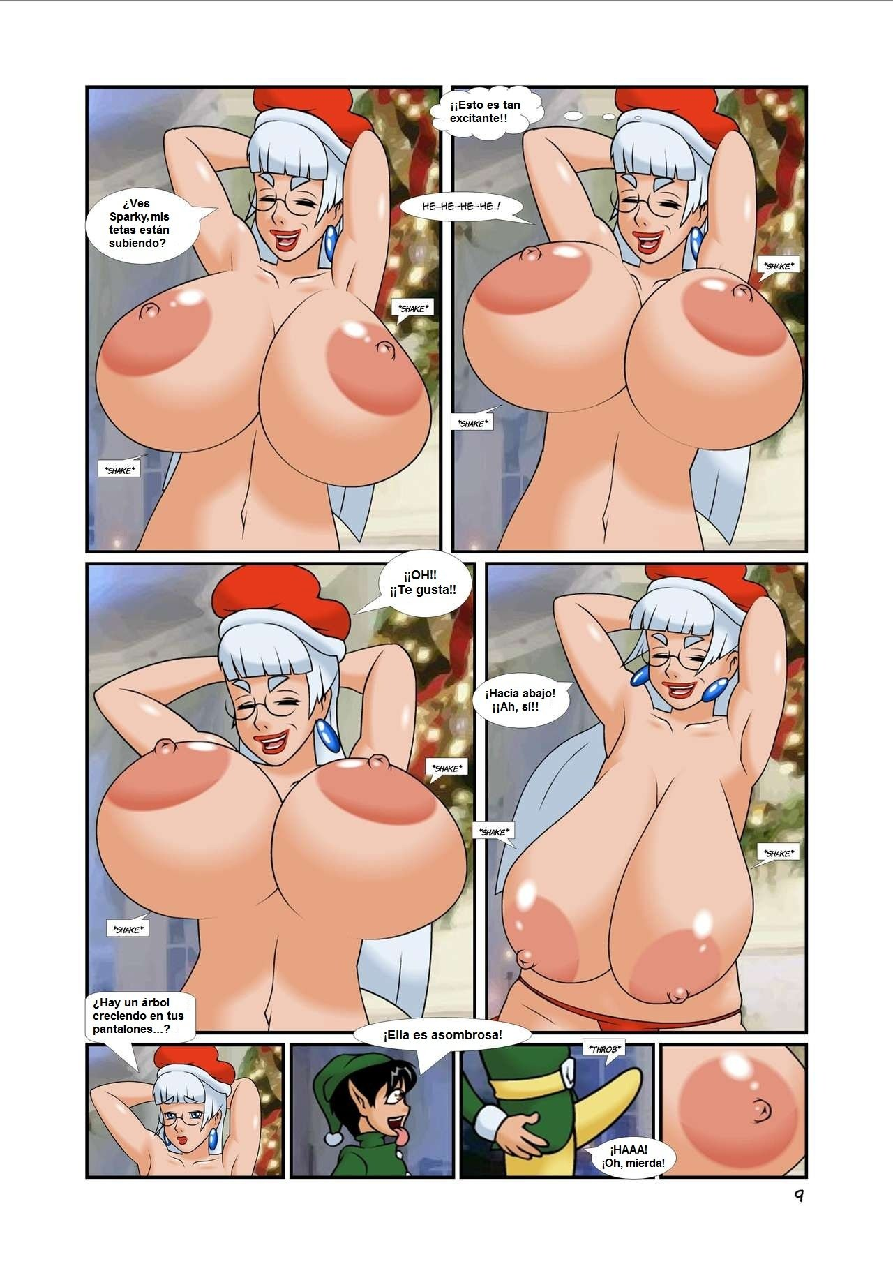 Xmas Pay Rise Mrs Claus 09