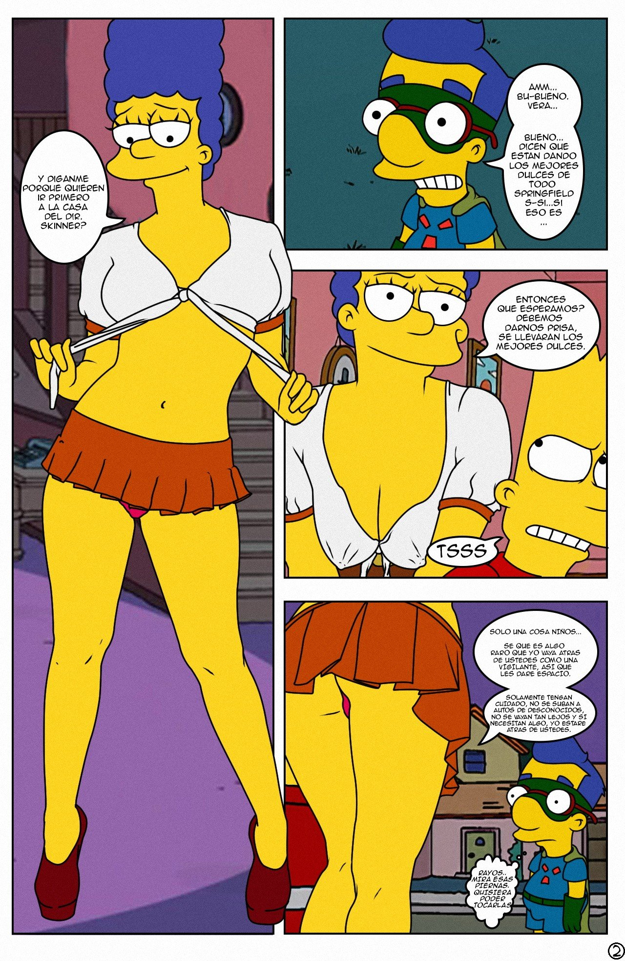 Simpsons Sex Porno