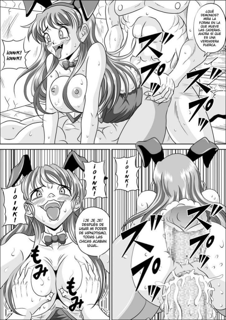 Sow In the Bunny Hentai 027