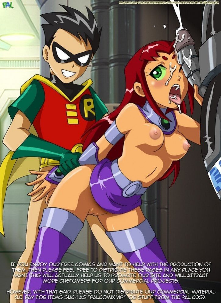 Teen Titans Comic XXX 015