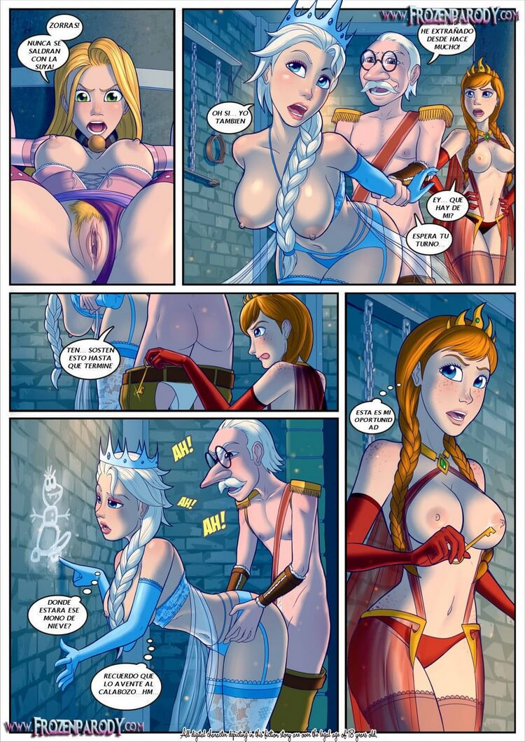 3d elsa is a real slut frozen anna too 3