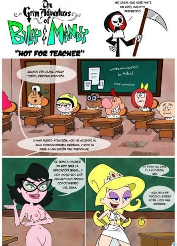 Hot For Teacher Billy And Mandy