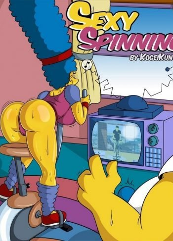 Sexy Spinning – Los Simpsons