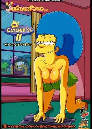 Milfs Catchers 2 Los Simpsons